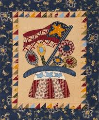 Patriotic Folk Art Quilt | AllPeopleQuilt.com & Pages Adamdwight.com