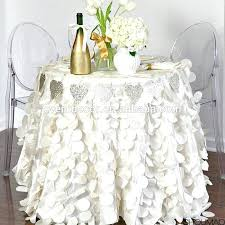 decorative round tablecloths decorative table cloths unique decorative