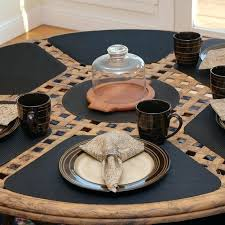 place mats for round table anshin intended plans 2