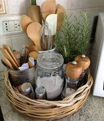 Kitchen: Double Fruit Baskets To Kitchen Countertops - Kitchen Countertops  Ideas