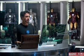 Iron man office Christmas Ironman2 Interior Design Ideas Iron Mans House