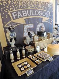 fabulous 50th black gold birthday party gold birthday birthdays