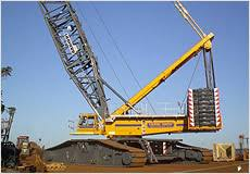 Crawler Crane Rating Charts Daniel Smith Industries Ltd
