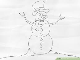 image led draw a snowman step 7