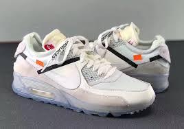 nike shoes white air max. off-white nike air max 90 aa7293-100 shoes white