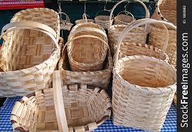 woven wood basket. Wonderful Wood Woven Wood Baskets In A Market Inside Basket S