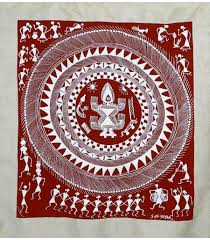 tribal folk art warli