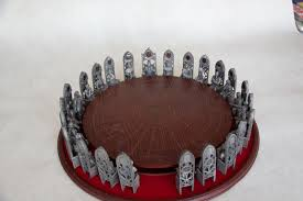 miniature round table king arthur