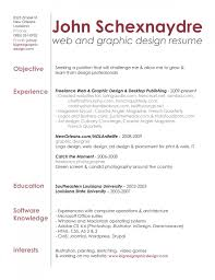 Experienced Fresher Graphic Designer Resume Template Contact For