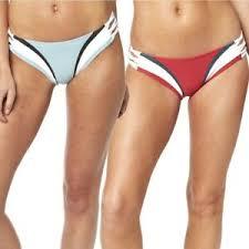 Details About Fox Racing Dixie Lace Up Womens Ladies Swimsuit Bikini Bottoms