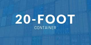 20 foot container dimensions