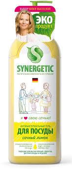 """<b>Средство</b> для <b>мытья</b> посуды """"<b>Synergetic</b>"""", концентрированное, 1 ..."""