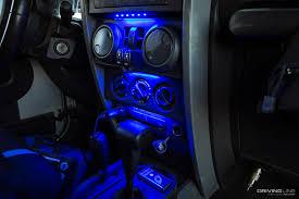 Interior led lighting Cargo Trailer Rvupgradescom How To Customize Your Ride With Diy Led Strip Lighting Drivingline