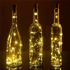Decorative Wine Bottles With Lights Amazon Recycle Wine Bottle Lights Pro 100 Pack 100LEDS DIY 64