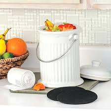 kitchen composting ceramic compost crock kitchen compost bin canadian tire kitchen composting