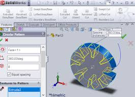 Circular Pattern Solidworks Delectable Making Gears With Hobby CNC