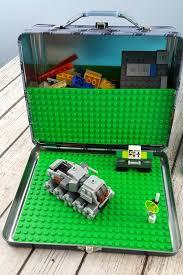 diy lunch box lego travel kit