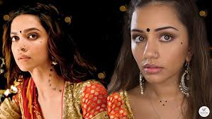 bollywood makeup tutorial ram leela style navratri garba makeup