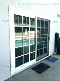 patio door track repair sliding door repair kit slide medium size of patio door threshold repair