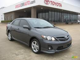 2011 Toyota Corolla S in Magnetic Gray Metallic - 555946 | Jax ...