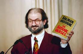 on this day in photos orders salman rushdie to be murdered salman rushdie at dom forum in arlington virginia in 1992 ap photo