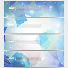 Design Science Software Set Of Modern Vector Banners Abstract Multicolored Background