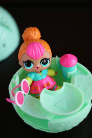 the s had a load of fun unwrapping all 7 layers of the l o l surprise tots ball the best part about these dolls is definitely all the anion