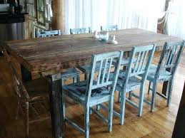 distressed round dining table and chairs kitchen farmhouse sets black dinning farmho