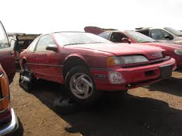 Junkyard Find: 1990 Ford Thunderbird Super Coupe - The Truth About ...