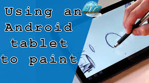 android tablets use like a real graphics tablet for painting best technology apps you