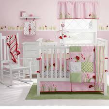 lamb baby bedding theme the pea s girl crib set c and aqua mila piece com