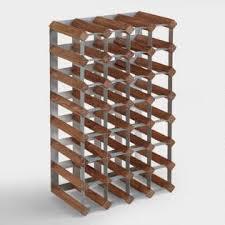 wine bottle storage furniture. Wood \u0026 Metal Industrial Wine Rack Bottle Storage Furniture