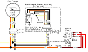 fuel gauge wiring confusing page 2 harley davidson forums the tank and connect to the harness under the tank from there the y or y w wire from the gauge connects to the y w wire at the fuel sending unit