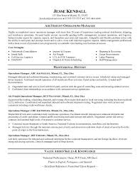 example air freight operations manager resume   free samplesample resume