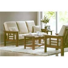 modern wooden sofa set designs