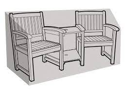 companion seat cover garden furniture