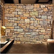 stone wall wallpaper murales de pared 3d naturaleza wallpaper brick wall for living room