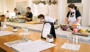 needless to say when i was asked to attend a cooking cl at the stonewall kitchen cooking i went with an empty stomach and a napkin or two