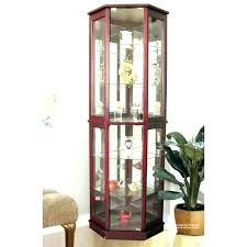 white curio cabinet glass doors curio cabinets with glass doors corner display cabinet glass lighted standing