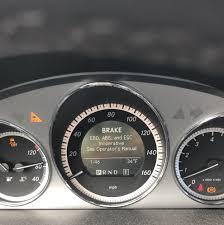 Mercedes Benz Brake Wear Warning Light Ebd Abs Esc Warning Light How To Fix Mbworld Org Forums