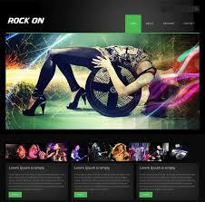 Music Website Templates Delectable 28 Best Music Website Templates Free Premium FreshDesignweb
