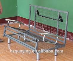 Extendable Sofa Bed Frame With Wire Mesh Base - Buy Meta Sofa ...