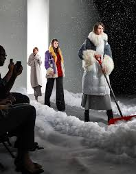 with a bitter winter forecast the fashion world is marching out luxe but strategic looks to help battle the chill