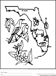 Florida Animals Coloring Pages Download And Print For Free
