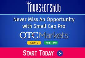 Live Otc Charts Investorshub Nyse Nasdaq Amex Otcbb Pink Sheet Stock