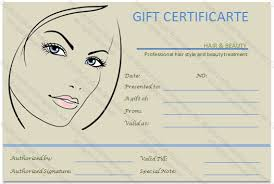 Permalink To The Simple Beauty Spa Gift Certificate Template Sams