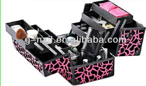 pvc professional beauty box trolley las beauty box mac makeup beauty case box