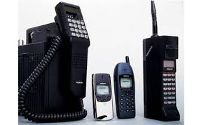 Image result for past mobile phones