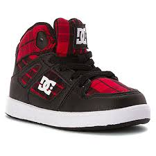 dc shoes high tops red and black. dc shoes kids\u0027 rebound se elastic high top sneaker toddler | boys\u0027 - black dc tops red and m