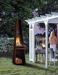 outdoor metal fireplace garden fireplace from metal outdoor fireplace steel outdoor fireplace designs